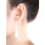 Feza - Silber Ohrringe plain - mattiert