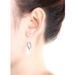Guzo - Silber Ohrringe plain - poliert