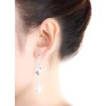 Gzu - Silber Ohrringe plain - mattiert/poliert