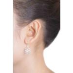 Venik - Silber Ohrringe plain - gebürstet