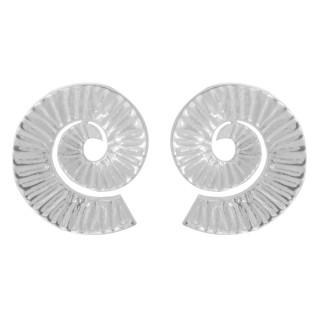 Taran - Silber Ohrstecker plain - poliert