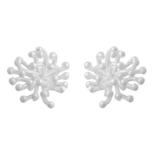 Plain-Silberohrstecker  - poliert - esa15337
