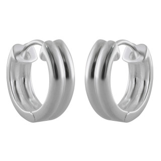 Creolen Plain - Silber  - poliert - ecp14204