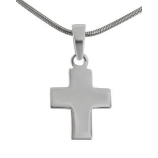 Kreuzanhänger-Silber  - poliert - pca13590