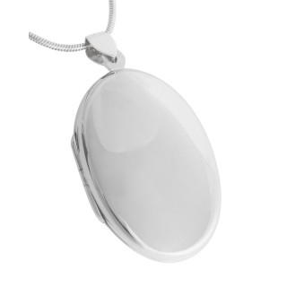 Silber-Medallion  - poliert - pma19094
