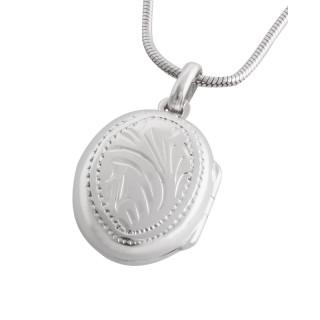 Silber-Medallion  - poliert - pma19095