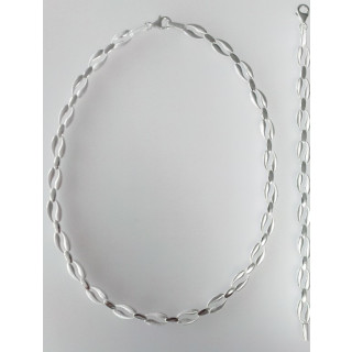 S70700 - Silber Collier-Armband