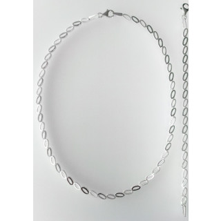 S70800 - Silber Collier-Armband
