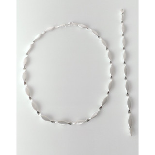 S71800 - Silber Collier-Armband