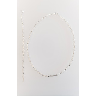 Silber Collier-Armband - S76300