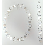 S94600 - Silber Collier-Armband