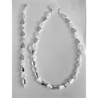 S95100 - Silber Collier-Armband