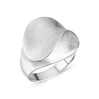 Silberring - mattiert und poliert - RPA17505