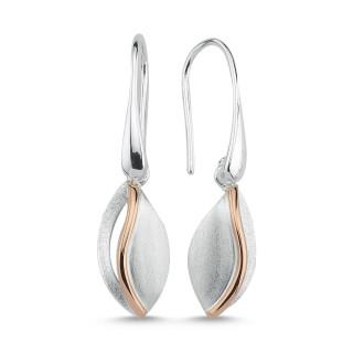 Ohrring  -EPA12951 - Gebürstet und bicolor