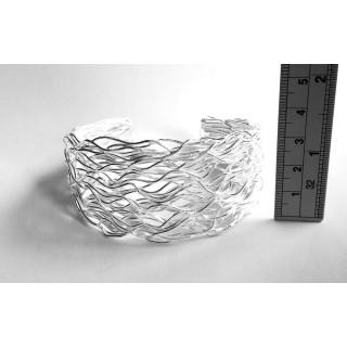 Armreif-Silber - poliert - CBG10059