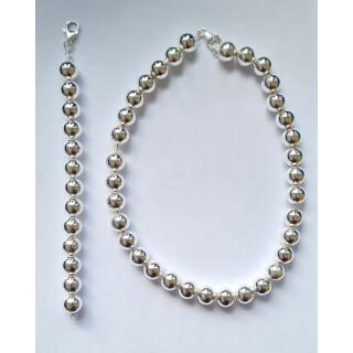 Silberkette - 50600 - Große Kugeln