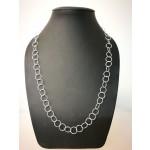 Silberkette - 50700 - Große runde Ringe