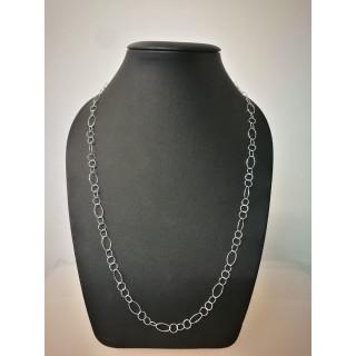 Silberkette - 50800 - 3+1 Oval