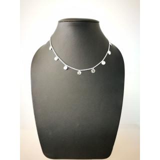 Silberkette - 54000 - Kleine Kreise