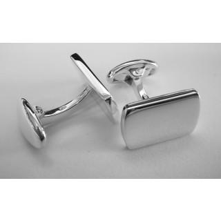 Manschettenknopf  928 Silber - poliert - cl754
