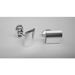 Manschettenknopf  936 Silber - poliert - cl783