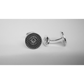 Manschettenknopf  938 Silber - poliert - cl787