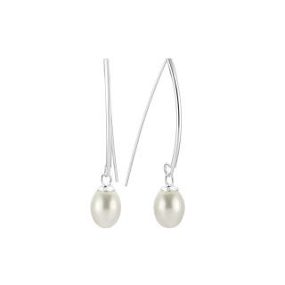 Perlenohrringe -EP2057-mit Perle