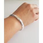 Armreif-Silber - CBG10044-8 - poliert 8 mm