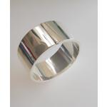 Silber Armreif - CBG10040-P poliert 30 mm
