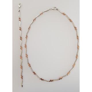 Silber Collier-Armband - SR15100