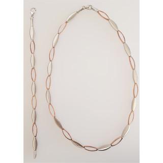 Silber Collier-Armband - SR21600
