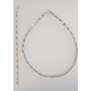 Silber Collier-Armband - S44400