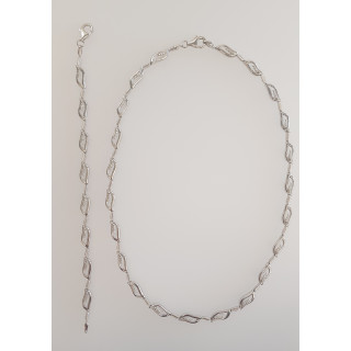 Silber Collier-Armband - T47300