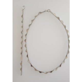Silber Collier-Armband - T48000
