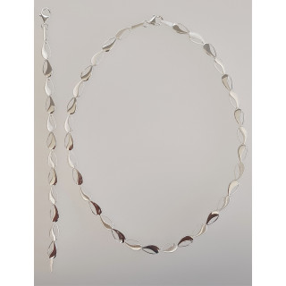 Silber Collier-Armband - S48700