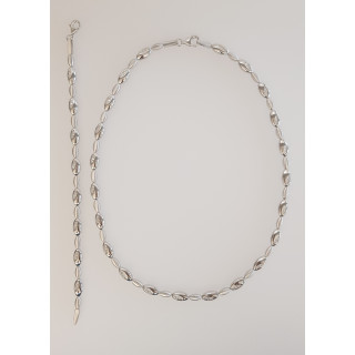 Silber Collier-Armband - T49800