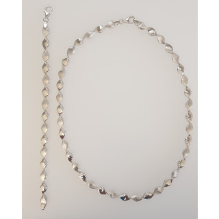 Silber Collier-Armband - T49900