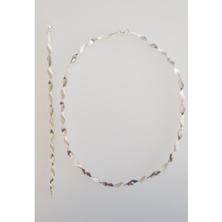 Silber Collier-Armband - S55000