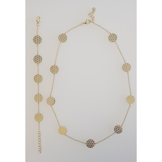 Silber Collier-Armband - SG55300