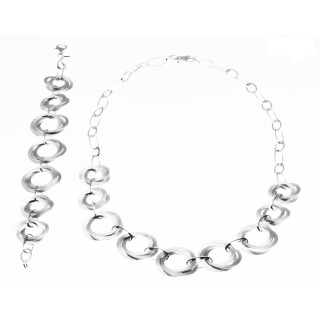 Silber Collier-Armband - S65200