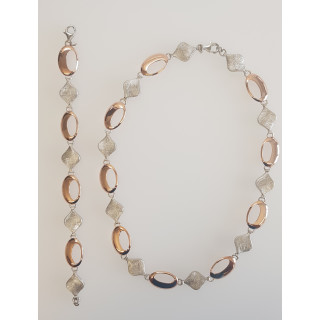 Silber Collier-Armband - S65300