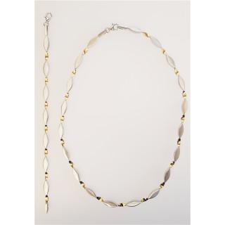 Silber Collier-Armband - SG71800