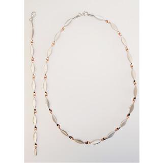 Silber Collier-Armband - SR71800