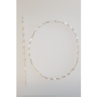 Silber Collier-Armband - S71700