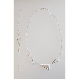 Silber Collier-Armband - S95800