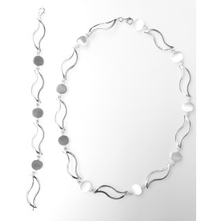 Silber Collier-Armband - S99600