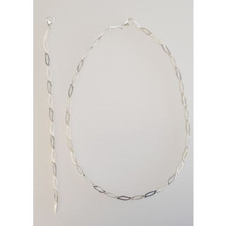 Silber Collier-Armband - S75100
