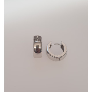 Silbercreole - CA4312 Rhodiniert