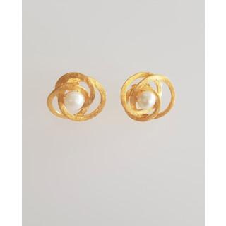 Silberohrstecker - OP5548 vergoldet