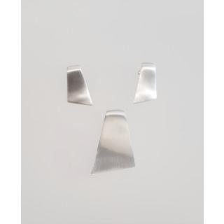Silber Set mattiert SA123